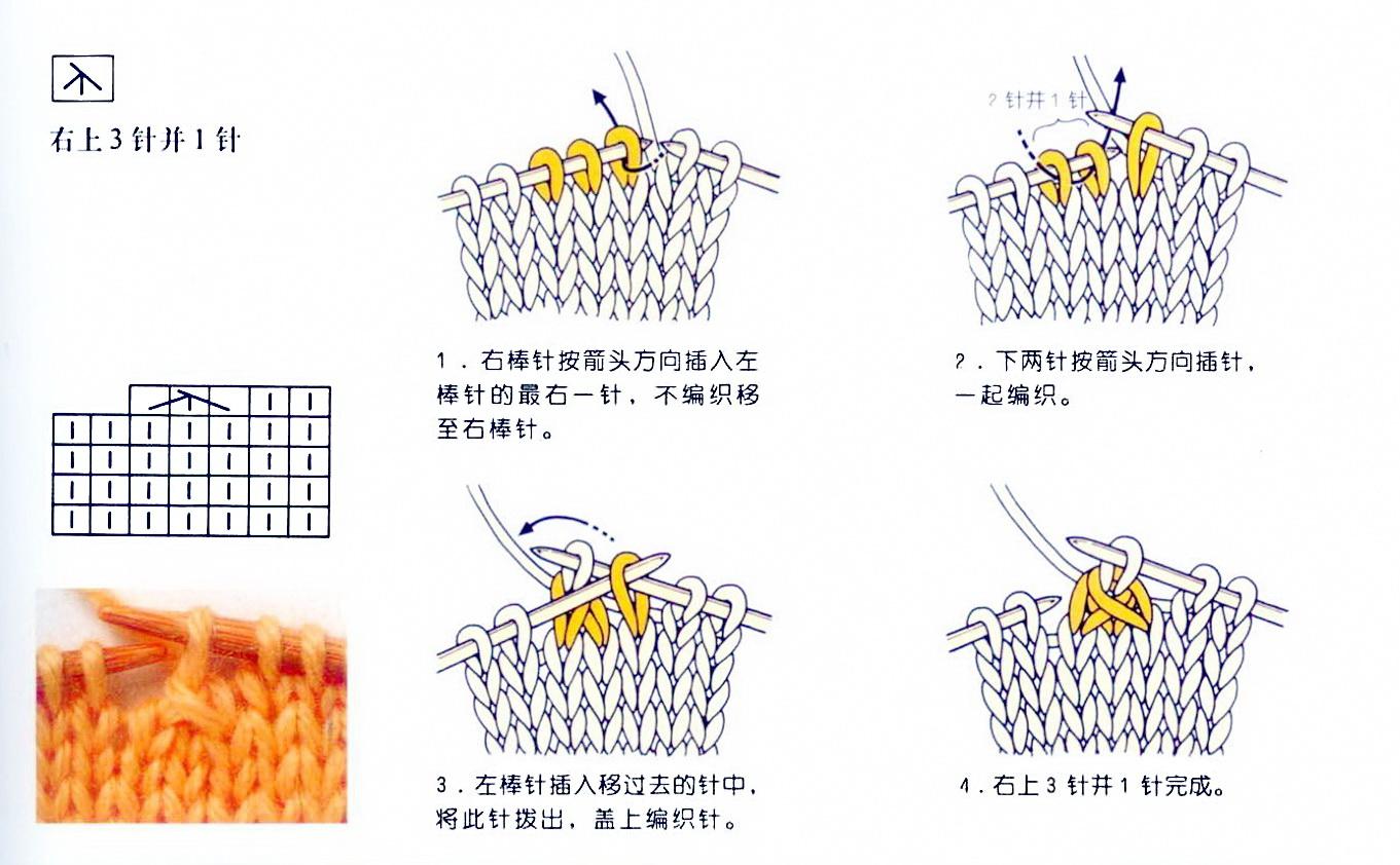 Вязание провязать две петли вместе лицевой