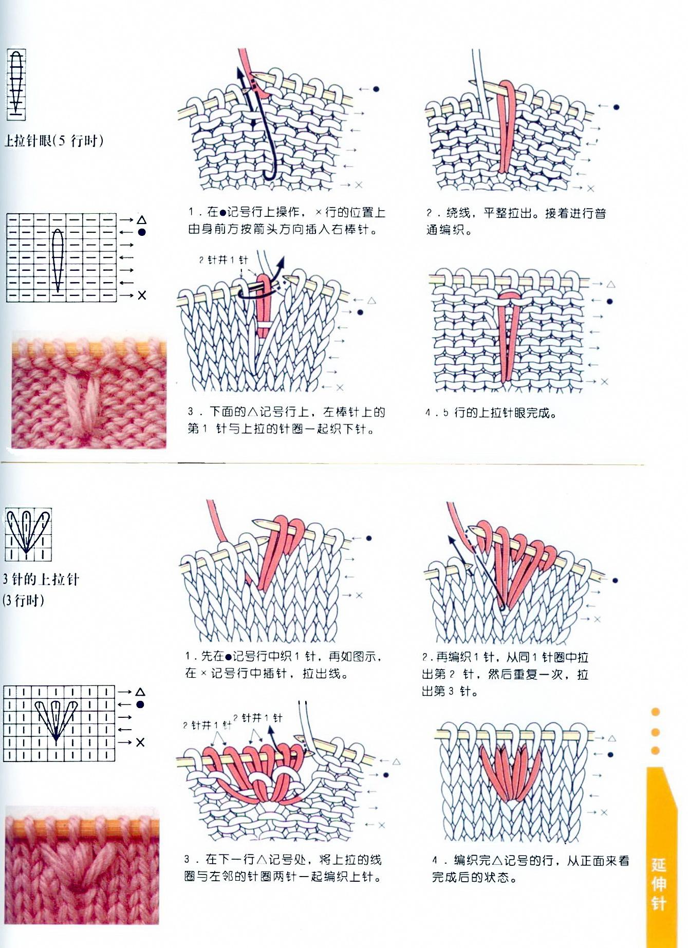 Описания и схемы в японских журналах - Мир Вязания 68